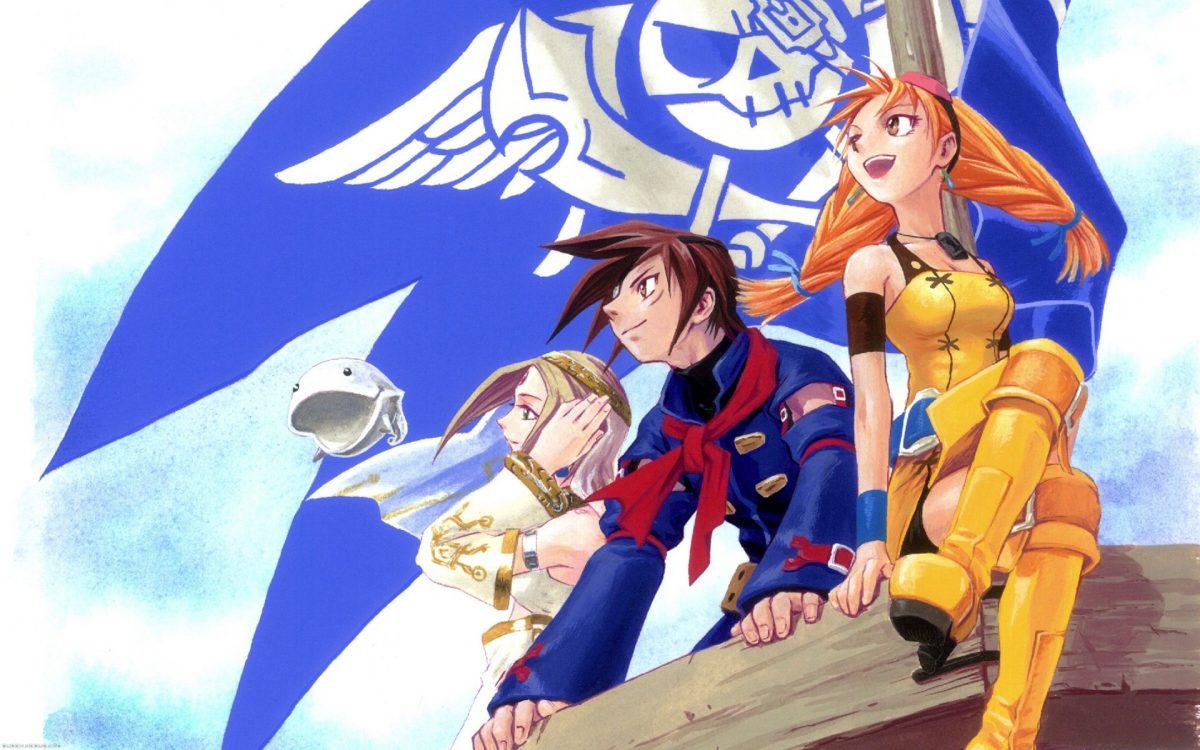 Skies of Arcadia на Dreamcast с VGA-адаптером