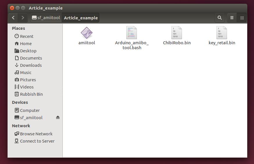 Files in folder