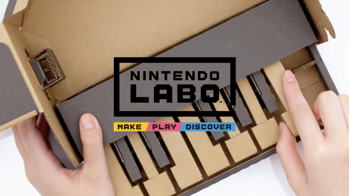 Nintendo Labo for Switch Revealed
